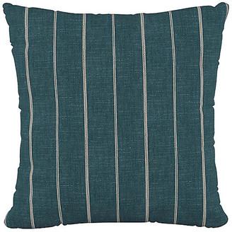 One Kings Lane Fritz 20x20 Pillow - Indigo