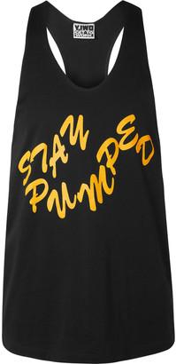Y,Iwo Printed Cotton-Jersey Tank Top