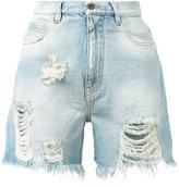 Faith Connexion Destroy shorts - women - Cotton - M