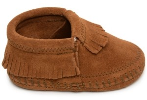 Minnetonka Baby Boys and Girls Riley Bootie