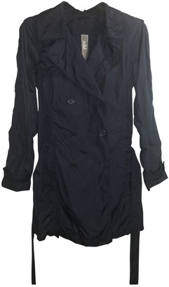 ADD Blue Trench Coat for Women