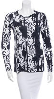 Thakoon Floral Long Sleeve Top