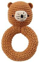 Baby Essentials Bear Animal Knit Rattle