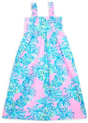 Lilly Pulitzer Little Girl's & Girl's Jeanie Smocked Maxi Dress