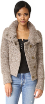 Free People Cozy Girl Moto Jacket