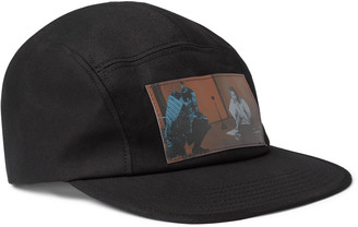 Undercover Appliqued Cotton-Twill Baseball Cap