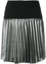 Versace metallic pleat skirt