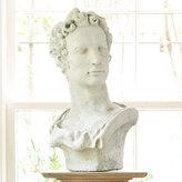 A Poet's  Likeness Sculpture