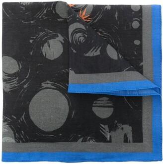 Paul Smith Fox-Print Pocket Square