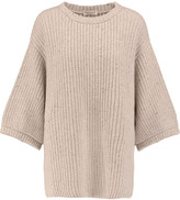 Brunello Cucinelli Metallic cashmere-blend sweater