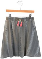 Bonheur Girls' Patterned A-Line Skirt w/ Tags