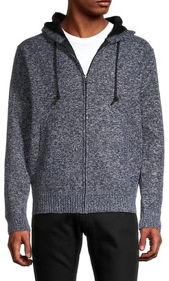 Buffalo David Bitton Faux Fur-Lined Hooded Jacket
