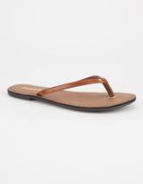 Soda Sunglasses Basic Womens Thong Sandals