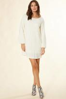 Sadie & Sage Textured Like A Dream Knit Dress Cream S