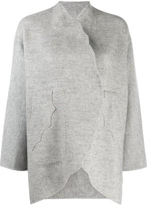Tsumori Chisato open-front oversized cardigan