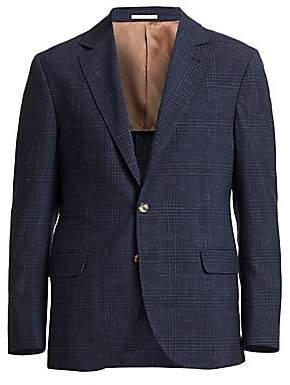 Brunello Cucinelli Men's Wool Plaid Sport Coat