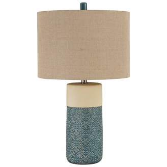 Signature Design by Ashley Ashley Furniture Signature Design - Evalyn Ceramic Table Lamp - Set of 2 - Green