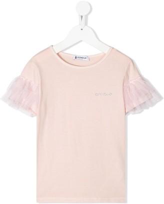 Dondup tulle frills T-shirt