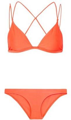 Dion Lee Fine Line Neon Bikini