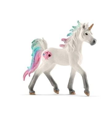 Schleich Hand-Painted Figure Sea unicorn foal