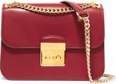 MICHAEL Michael Kors Sloan Editor Leather Shoulder Bag - Red