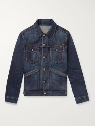 Tom Ford Denim Jacket - Men - Blue