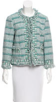Tory Burch Embellished Tweed Jacket w/ Tags