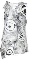 Acne Studios Bellair printed silk top