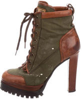 DSQUARED2 Platform Kiltie Booties