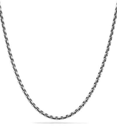 David Yurman 4.6mm Sterling Silver Knife-Edge Chain Necklace