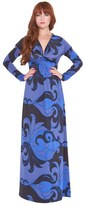 Olian Women's 'Katherine' Print Maternity Maxi Dress