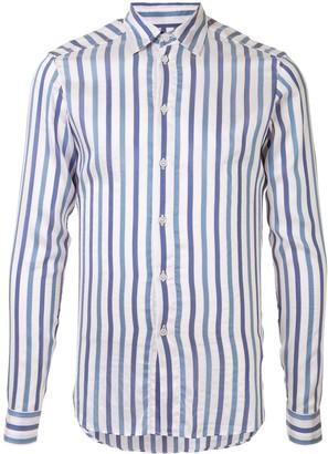 Faith Connexion Striped Fitted Shirt