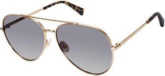 Rebecca Minkoff Stevie Metal Aviator Sunglasses