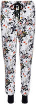 Markus Lupfer Pressed Flower White Jogging Trousers