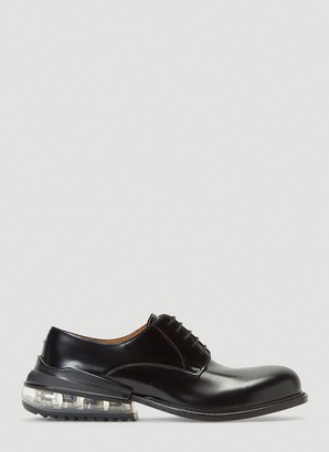 Maison Margiela Contrast Heeled Derby Shoes
