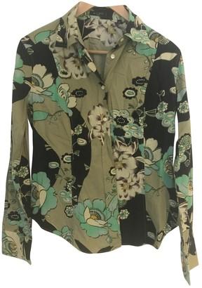Etro Green Cotton Top for Women