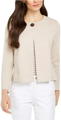 Charter Club One-Button Cardigan Sweater