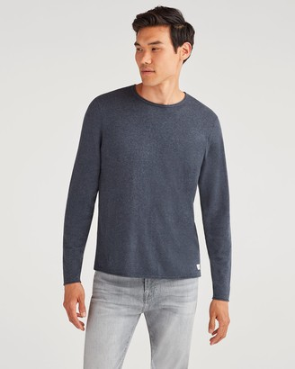 7 For All Mankind Riviera Sweater in Heather Navy