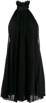 Givenchy sleeveless pleated dress