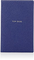 "Smythson Top Dog"" Wafer Notebook"