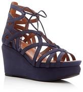 Gentle Souls Joy Lace Up Wedge Sandals