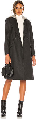 Alice + Olivia Bern Mid Length Blazer Coat