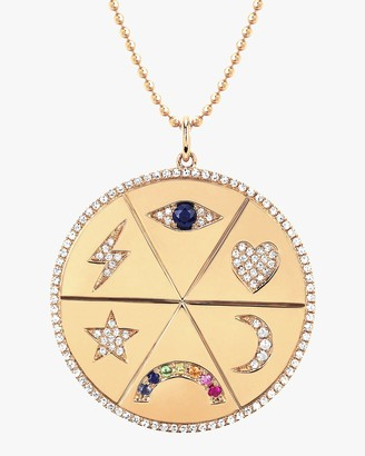 Ef Collection All the Feels Pendant Necklace