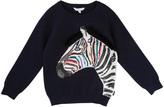 Little Marc Jacobs Coloured Sequin Zebra Jumper