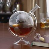 Wine Enthusiast 35 oz. Etched Globe Spirits Decanter