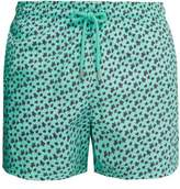 Vilebrequin - Moorea Turtle Print Swim Shorts - Mens - Green Multi