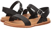 Kork-Ease Ease Yucca (Black Full Grain Leather) Women's Sandals