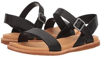 Kork-Ease Yucca (Black Full Grain Leather) Women's Sandals