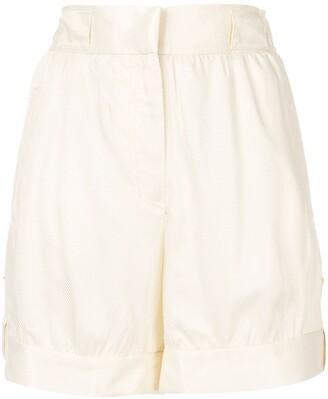 Emporio Armani Wide Leg Shorts