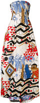 Talbot Runhof Moss dress - women - Silk/Cotton/Polyamide/Cupro - 36